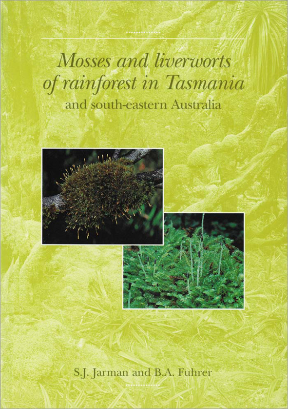 The cover image featuring two pictures, one of moss, one of liverworts, ag