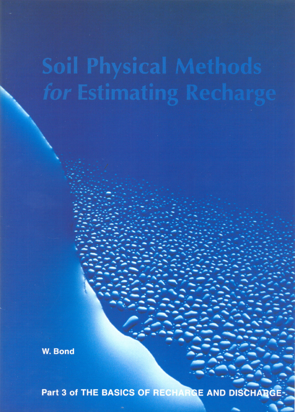The cover image featuring various sized water droplets and smears, against