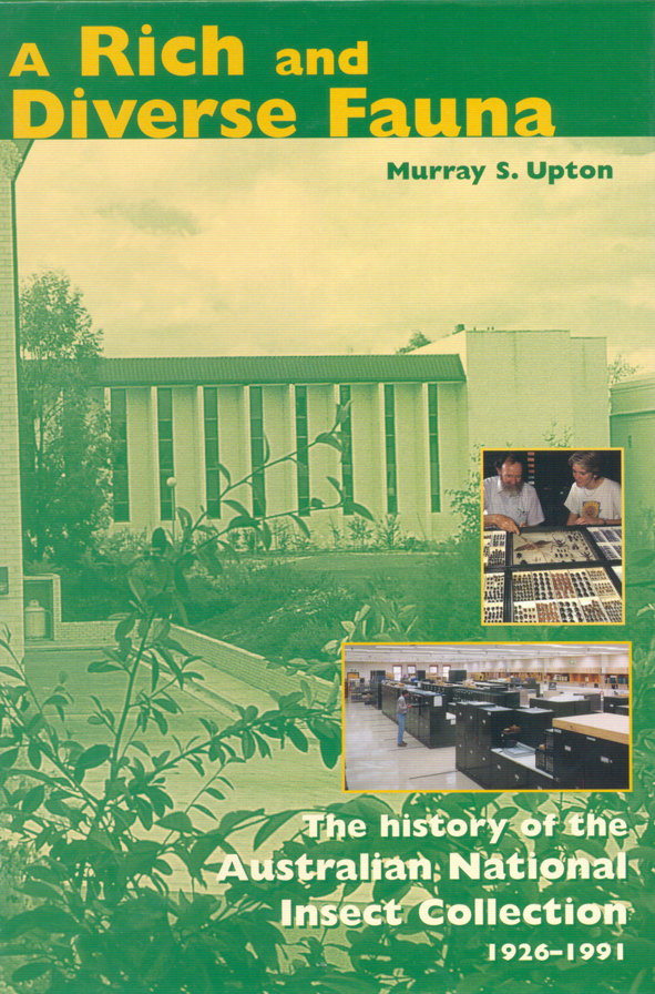 The cover image featuring a green tinged image of a building in bush land,
