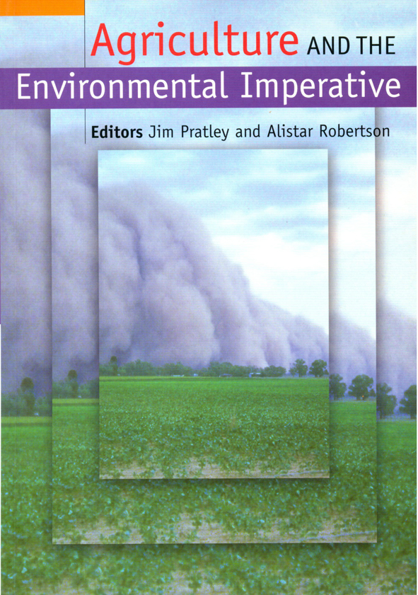 The cover image of Agriculture and the Environmental Imperative, featuring