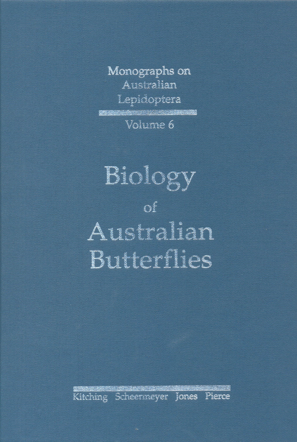 The cover image of Biology of Australian Butterflies, featuring a plain bl
