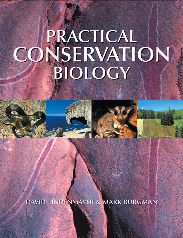 The cover image featuring four thin images as a strip of animals and lands