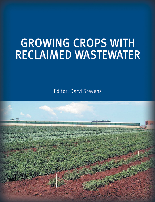 The cover image of Growing Crops with Reclaimed Wastewater, featuring a vi
