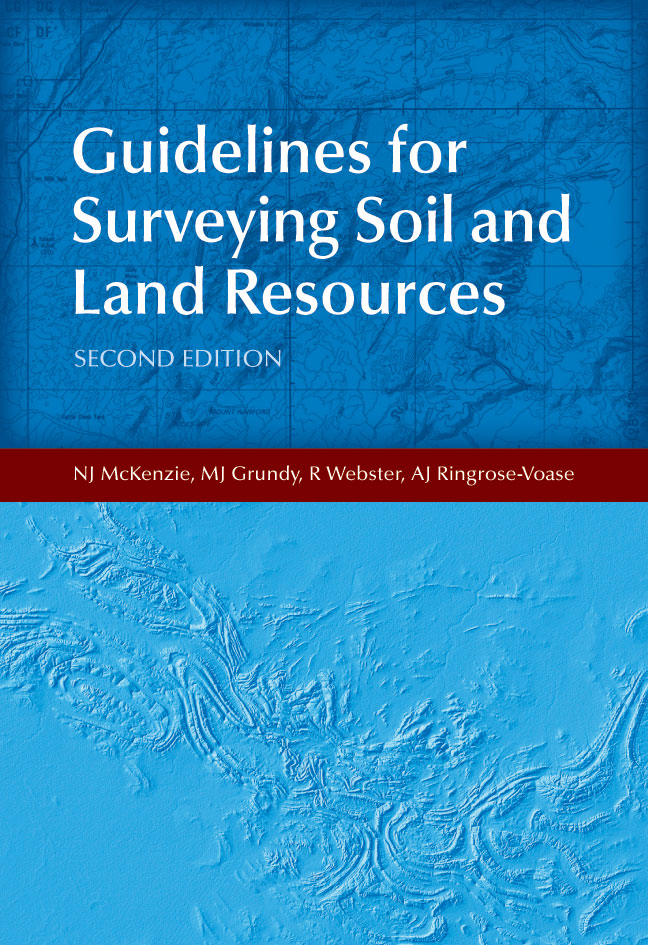The cover image of Guidelines for Surveying Soil and Land Resources, featu
