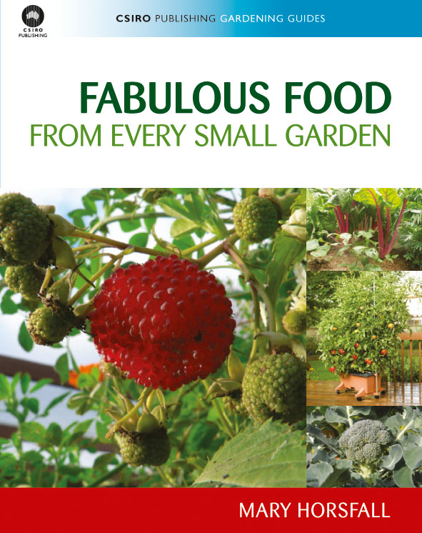 The cover image of Fabulous Food from Every Small Garden, featuring a clos