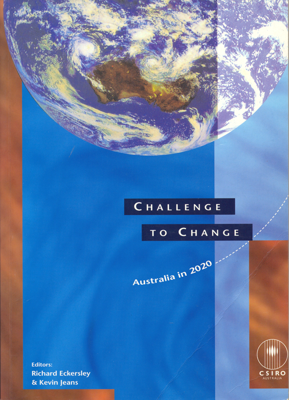 The cover image of The Challenge to Change, featuring the bottom half of t