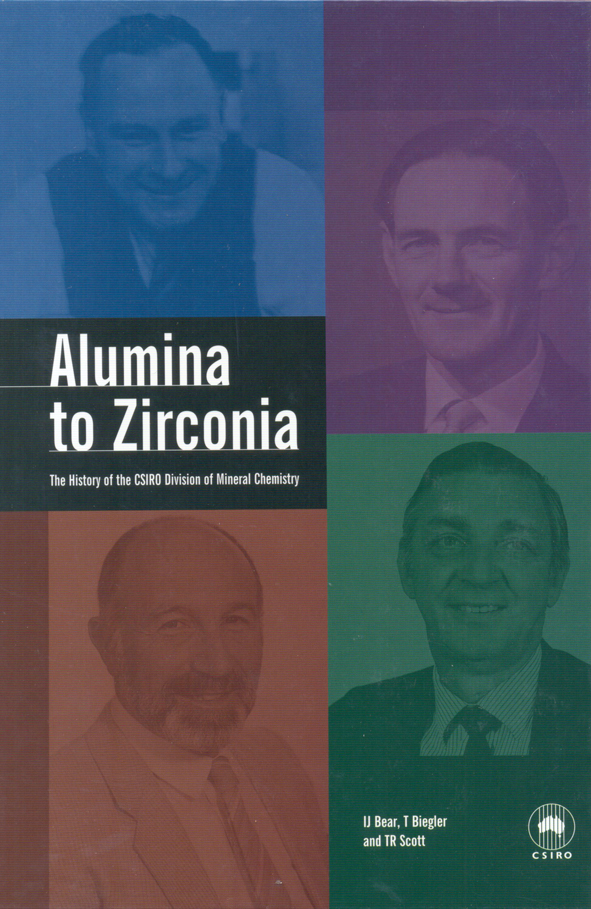 The cover image of Alumina to Zirconia, features four photographs of indiv