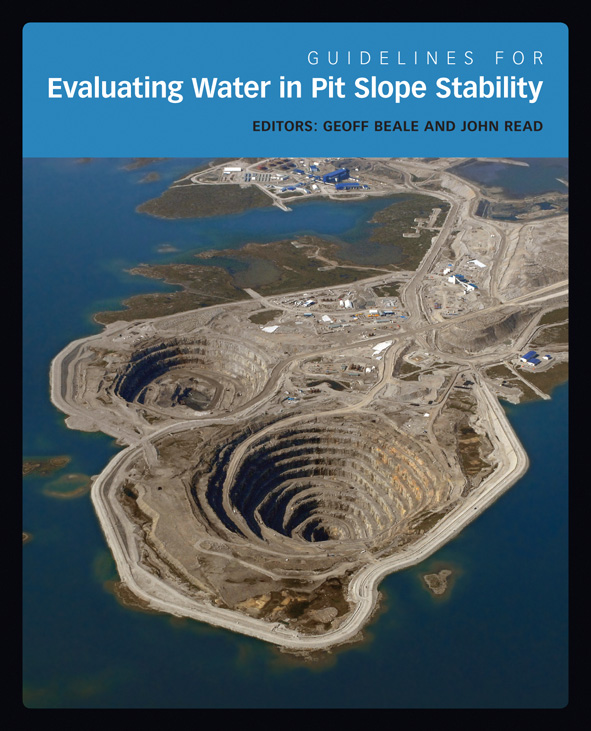 The cover image of Guidelines for Evaluating Water in Pit Slope Stability,