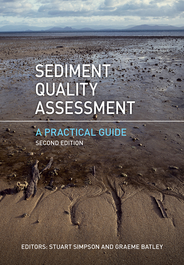 Cover image of Sediment Quality Assessment, featuring a large image of fla