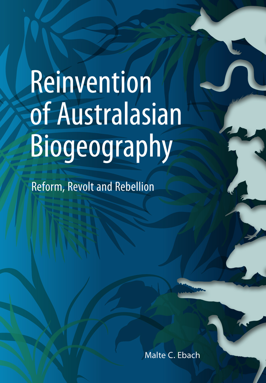 cover of Reinvention of Australasian Biogeography
