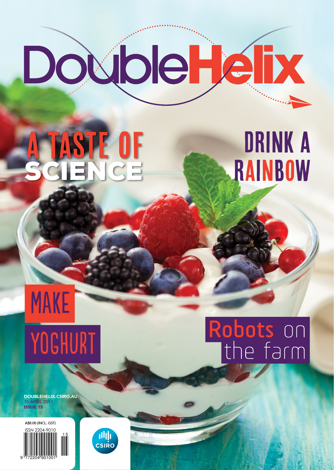 cover of Double Helix Issue 15