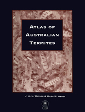 The cover image featuring a brown toned image of termites, with a black bo