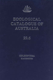 The cover image of Zoological Catalogue of Australia Volume 29.6, featurin