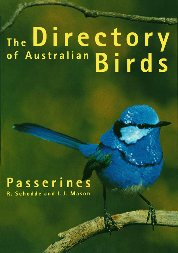 The cover image featuring a small bright blue bird on a twig, with an out
