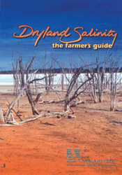 Cover image of Dryland Salinity: The Farmer's Guide, featuring desertified