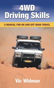 The cover image featuring a white 4WD driving directly at the photograph t