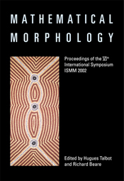 The cover image of Mathematical Morphology, featuring an aboriginal art pi