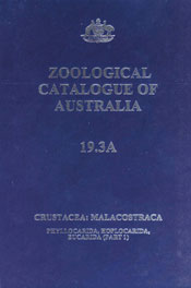 The cover image of Zoological Catalogue of Australia Volume 19.3A, featuri