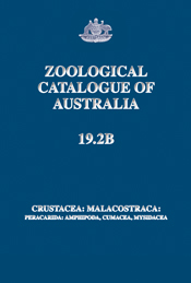 The cover image of Zoological Catalogue of Australia Volume 19.2B, is plai