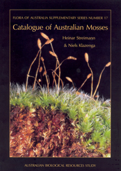 Cover image of Flora of Australia Supplementary Series 17, featuring a clo