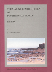 Cover image of Flora of Australia Supplementary Series 18, featuring a rec