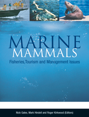 The cover image of Marine Mammals: Fisheries, Tourism and Management Issue