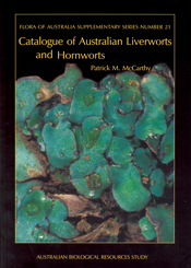 Cover image of Flora of Australia Supplementary Series 21, featuring close