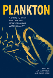 The cover image of Plankton, featuring yellow plankton set against a plain