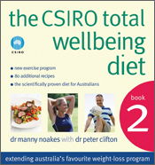 cover of The CSIRO Total Wellbeing Diet Book 2