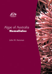 The cover image of Algae of Australia: Nemaliales, featuring a pink plant