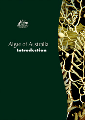 The cover image of Algae of Australia: Introduction, featuring sea algae d