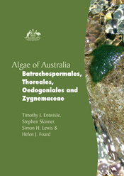The cover image of Algae of Australia: Batrachospermales, Thoreales, Oedog