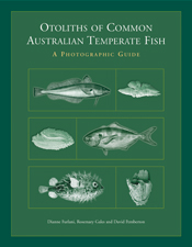 The cover image of Otoliths of Common Australian Temperate Fish, featuring