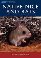 The cover image of Native Mice and Rats, featuring a mouse looking out of