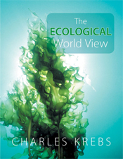 The cover image of The Ecological World View, featuring a pice of seaweed