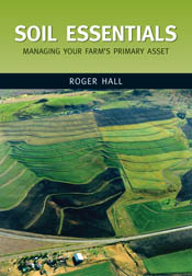 The cover image of Soil Essentials, featuring an aerial view of multiple s