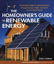 cover of Homeowner's Guide to Renewable Energy