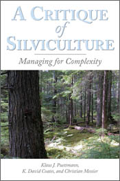 cover of A Critique of Silviculture