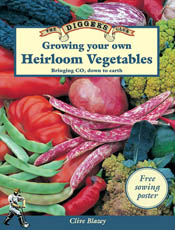 cover of Growing Your Own Heirloom Vegetables