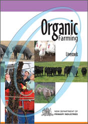 cover of Organic Farming: Livestock