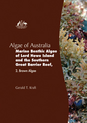 The cover image of Algae of Australia: Marine Benthic Algae of Lord Howe I