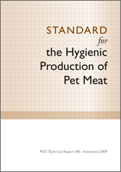 The cover image of Standard for the Hygienic Production of Pet Meat, featu