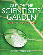 The cover image of Out of the Scientist's Garden, featuring a close up of