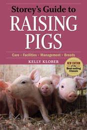 cover of Storey's Guide to Raising Pigs