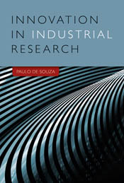 The cover image of Innovation in Industrial Research, featuring bulging si