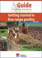 cover of Getting Started in Free Range Poultry