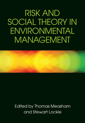 The cover image of Risk and Social Theory in Environmental Management, fea