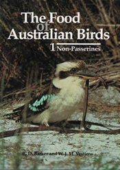 The cover image featuring a kookaburra with a long thin snake like animal