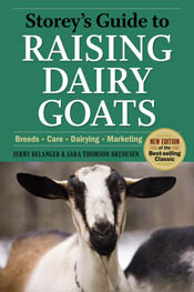 cover of Storey's Guide to Raising Dairy Goats