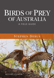 Cover image featuring a hawk with its wings spread and beak open on a tree